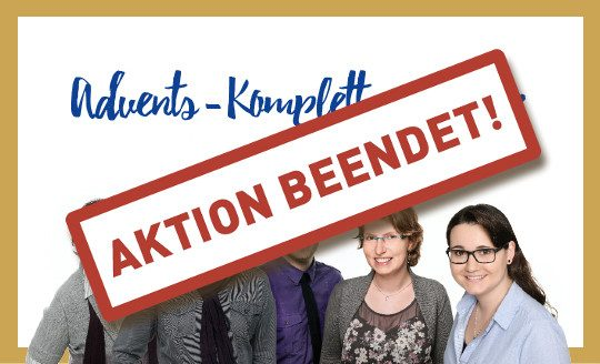 Unser Advents-Komplettangebot